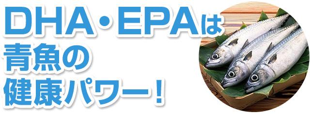 DHA・EPAは青魚の健康パワー!